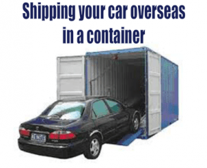 shipping cars from australia