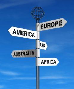 International relocations from Australia
